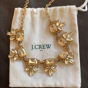 J Crew Yellow Stone Necklace